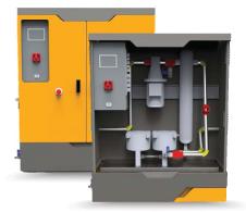 טבלת מערכת 2100 סיחרור אוטומטית לתחזוקת דלק